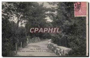 Old Postcard Paris Parc Montsouris