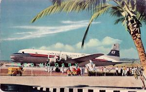 1950 Japan Airlines PC: 'City of Tokyo' at Honolulu Int'l