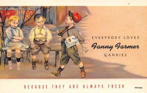 Fanny Farmer Candies Advertising Unused