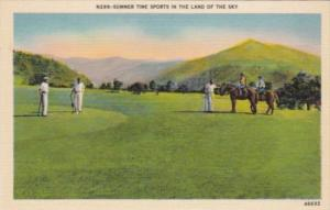 Golf & Horseback Riding Summer Sports In The Land Of The Sky Asheville North ...