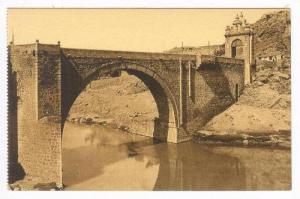 Toledo (Castilla-La Mancha), Spain, 1900-1910s, Puente De Alcantara
