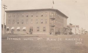 RP: KINDERSLEY , Sask. , Canada , 00-10s Main Street & Seymour Hotel