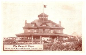 Massachusetts   Princeton , Summit House , Top of Wachusett Mountain