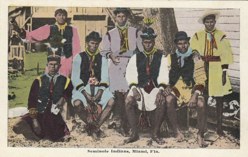 Seminole Indians , MIAMI , Florida , 1910s