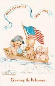 Crossing The Delaware Bicentennial 1776-1976