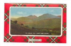 Macgregor, The Cobbler From Tarbet & Loch Lomond, Scotland, UK, 1900-1910s