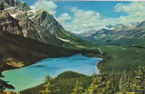 Canada Peyto Lake near Lake Louise Alberta