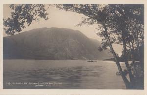 Crummock & Melbreak Boat Station Cumbria Old Postcard