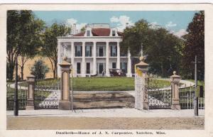 Dunleith , Home of JN Carpenter , Natchez , MS , 10-20s