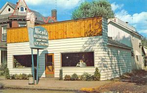 Zanesville OH Nicol's Restaurant & Bakery Postcard