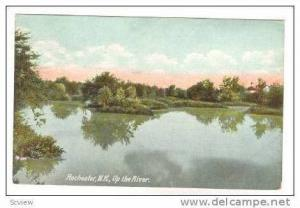Up the River, Rochester, New Hampshire, 1909