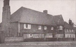 England Pevensey Historical Old Mint House