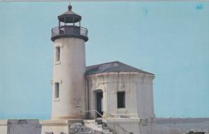 Abandoned LIGHTHOUSE , Bullards Beach State Park , Coquille River , BANDON , ...