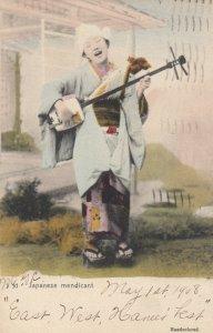 Japan , 1908 ; Japanese mendicant