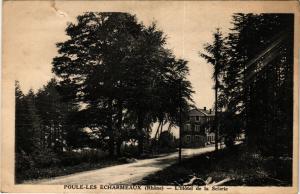 CPA  Poule-Les Echarmeaux - L'Hotel de la Scierie  (692877)
