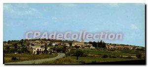 Postcard Old Vagnas Ardeche General view