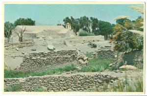 Chile, Chiu-Chiu, Vista del Pueblo E Iglesia, unused Postcard