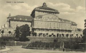 germany, CASSEL KASSEL, Kgl. Hoftheater, Theater (1910s)