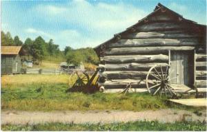 Blacksmith Shop at Marby Mill Blue Ridge Parkway Virginia VA