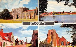 St Osyth, The Priory Mill Street The Boating Lake The Church