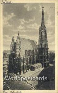 Wien, Vienna Austria, Österreich Stefanskirche  Stefanskirche