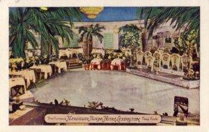 The Famous HAWAIIAN ROOM - HOTEL LEXINGTON, NEW YORK, NY.