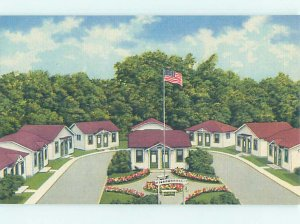 Linen MOTEL SCENE Clare - Near Harrison & Mount Pleasant Michigan MI AD9788
