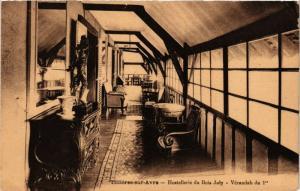 CPA   Tilliéres-sur-Avre - Hostellerie du Bois Joly -Vérandah du 1 er  (297133)