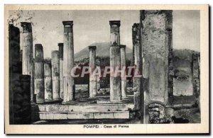 Old Postcard Italy italia Pompei Casa di Pansa