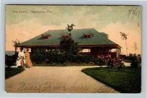 Saratoga Springs NY-New York, Kaydeross Park Casino, Vintage c1907 Postcard