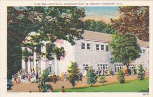 The Auditorium Ridgecrest Baptist Assembly Ridgecrest North Carolina
