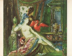 Gustave Moreau Dalila Delilah France Painting Postcard