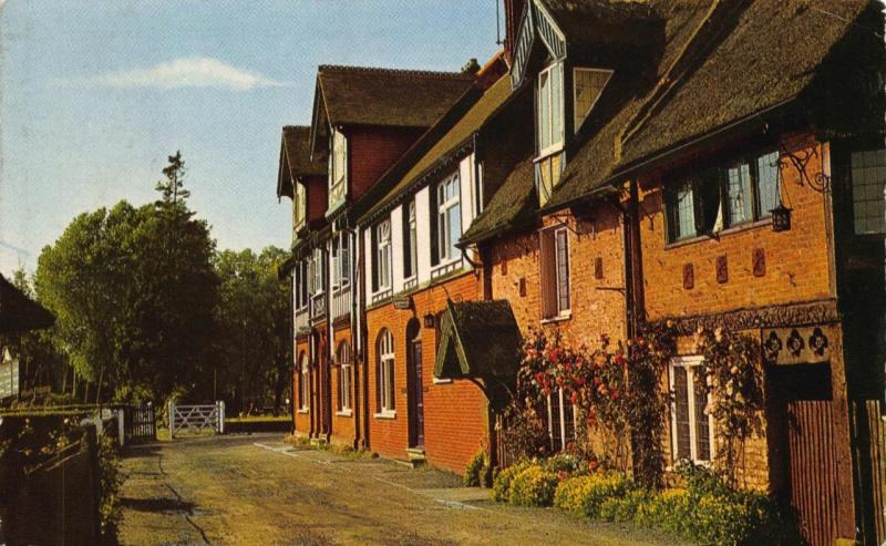 Vintage 1968 Postcard The NORFOLK Broads The Swan Hotel HORNING