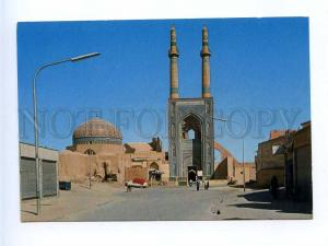 192852 IRAN YAZD cathedral mosque old photo postcard