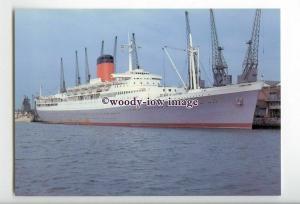 LN1047 - Union Castle Liner - Pendennis Castle , built 1958 - postcard