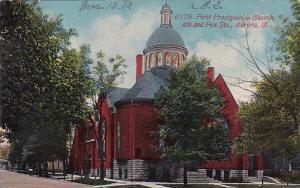 First Presbyterian Church 4th And Fox Streets Aurora Illinois