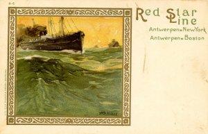 Red Star Line - General Advertisement (B-6).  Artist: Cassiers