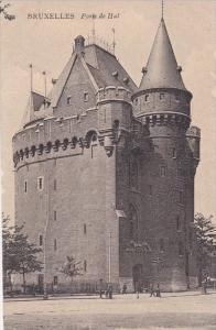 Porte de Hal, Bruxelles, Belgium, 1900-10s