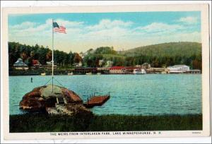 The Weirs, Interlaken Park, Lake Winnepesaukee NH