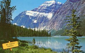 Canada - Alberta, Jasper National Park, Mt. Edith Cavell