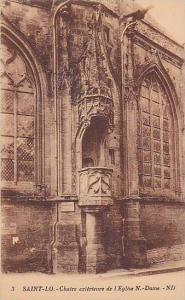 Chaire Exterieure De l'Eglise N.-Dame, Saint-Lo (Manche), France, 1900-1910s