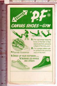 Hood P-F Canvas Shoes for Gym