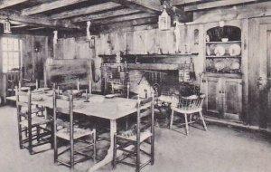 Massachusetts South Sudbury The Old Kitchen Longfellows Wayside Inn Albertype