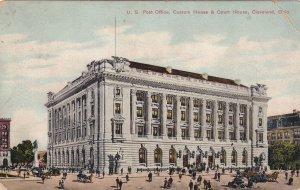CLEVELAND, Ohio, PU-1908; U.S. Post Office, Custom House And Court House