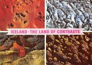 Iceland The Land of Contrasts, Sulphur ice lava algae  Land of Contrasts, Sul...