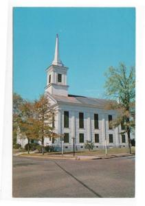 Eutaw,  Alabama, Early View of The First Presbyterian Church
