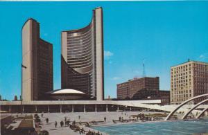 Exterior,  The New City Hall,  Toronto,  Ontario,  Canada,   40-60s