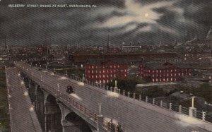 HARRISBURG, Pennsylvania, 00-10s ; Mulberry Street Bridge at Night