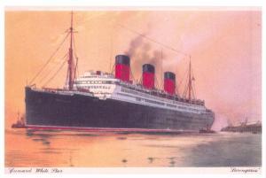 NEW Postcard Cunard White Star Ocean Liner Berengaria, Boat, Ship 99L