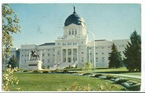 The State Capitol at Helena, Montana, 1964 used Postcard